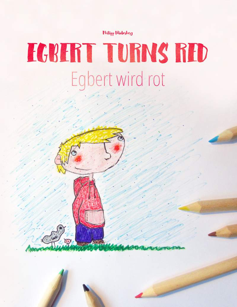 Egbert Turns Red